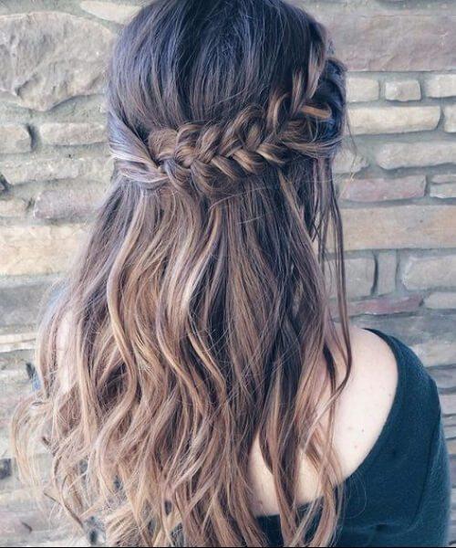 románticos peinados de trenza francesa