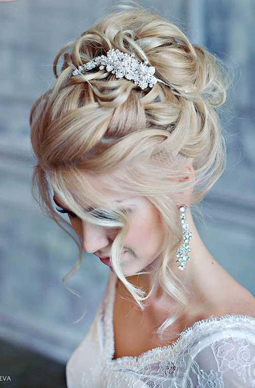 Estilos de cabello de la boda para cabello largo-6