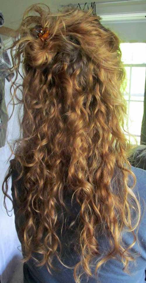 peinados rizados totalmente elegantes y hermosos 187 largo