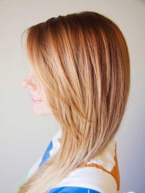 Peinados en capas de belleza