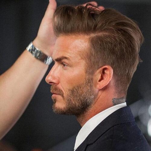 Fanned Up David Beckham Peinados