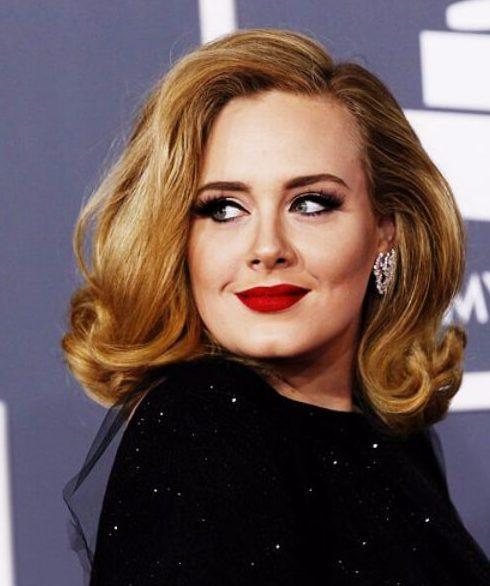 cortes de pelo largos de Adele