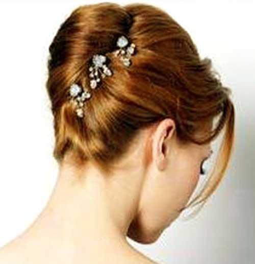 French Twist Updo Imágenes para bodas