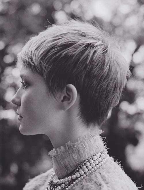Mia Wasikowska Short Pixie
