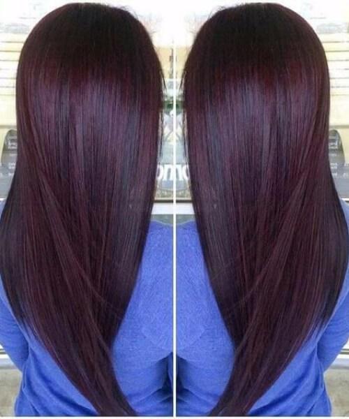 cabello castaño chocolate