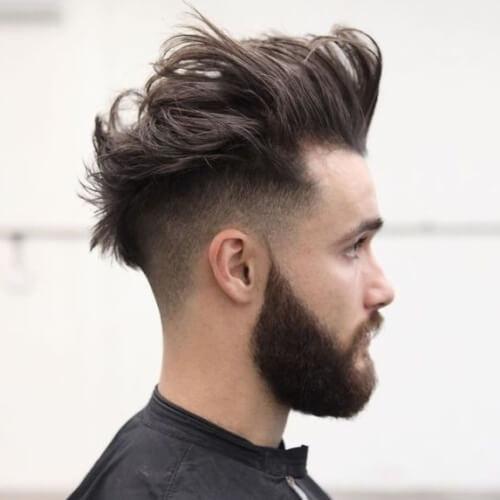 Peinados largos y desordenados