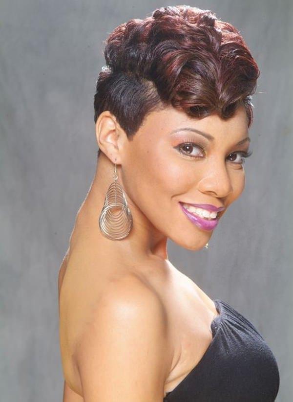 peinados cortos para mujeres negras 10