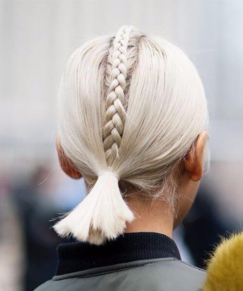 updos para cabello corto