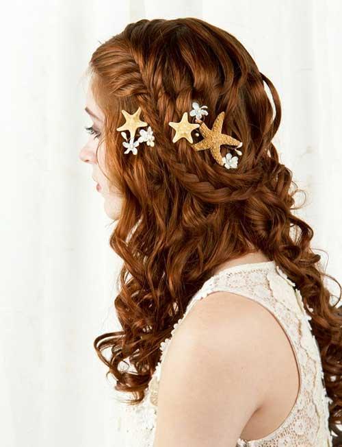 Hair Clips peinados para bodas en la playa