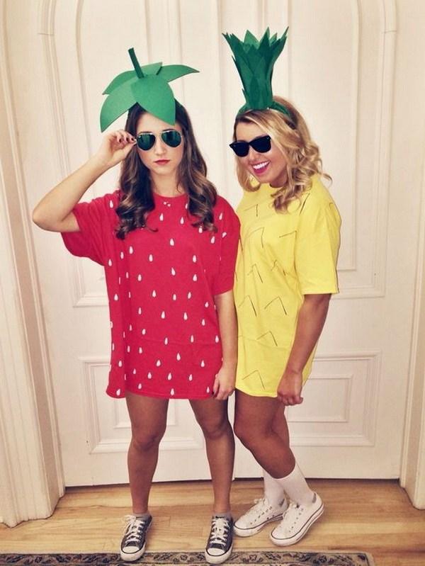 Los mejores disfraces de Halloween de Strawberry and Pineapple.
