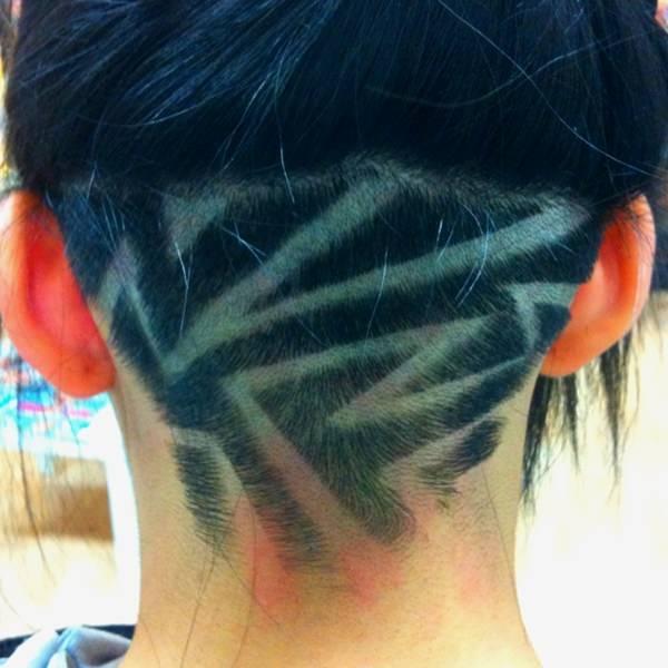 peinados afeitados para mujeres 25