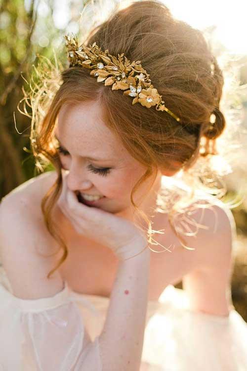 Las mejores coronas y velos de boda