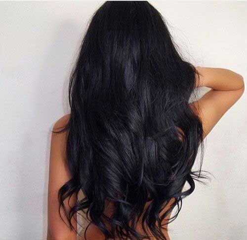 20 Chicas Guapas Negras Con Cabello Largo 187 Largo Peinados