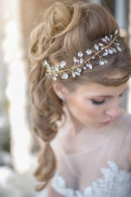 Mejores accesorios para el cabello de la boda de invierno