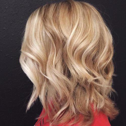 peinados lob cortados para el cabello fino