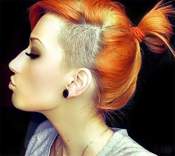39020216-lado afeitado-estilo de pelo