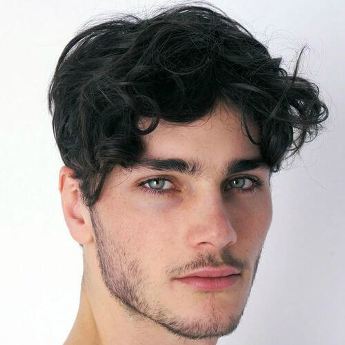 Peinados para hombres con cabello fino