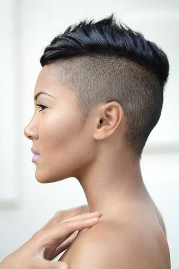 peinados cortos para mujeres negras 53