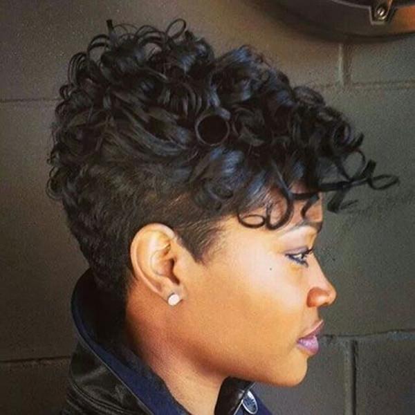 peinados cortos para mujeres negras 1