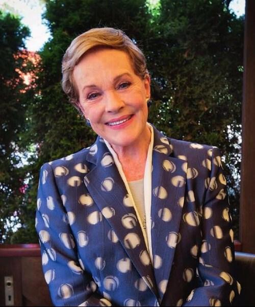 peinados julie andrews para mujeres mayores de 60 años