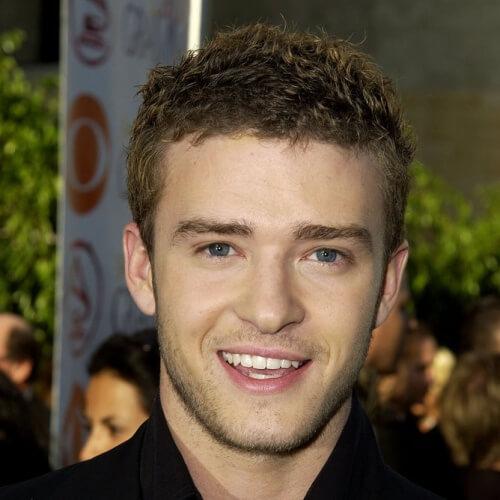 Corto Tousled Justin Timberlake peinados