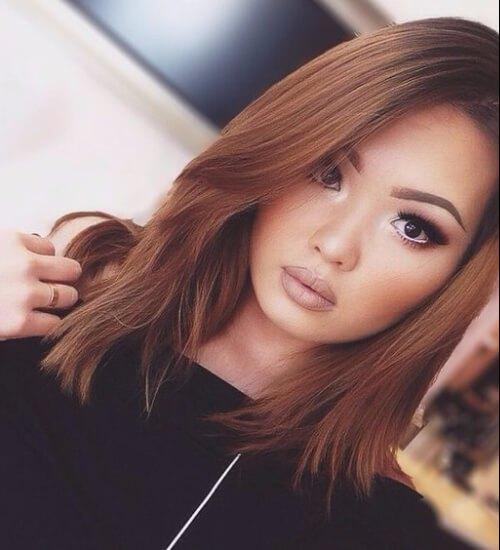 reflejos castaño claro coinciden con el color del pelo castaño rojizo