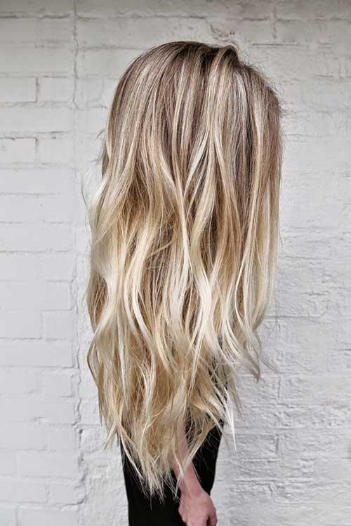 Corte de pelo largo y frío