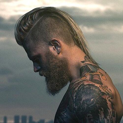Peinado Edgy Mohawk para hombres