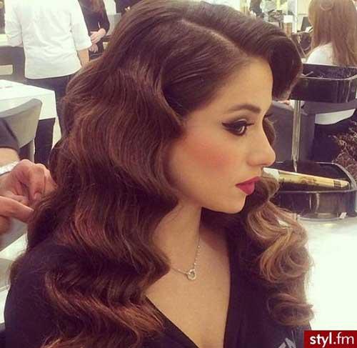 Peinados ondulados largos-18