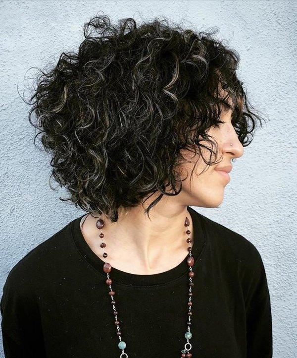 42280816-short-rizado-hairstylesblackcurlybobwithgrayhighlights