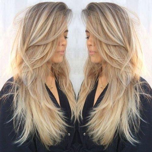 manhattan blonde highlights y lowlights