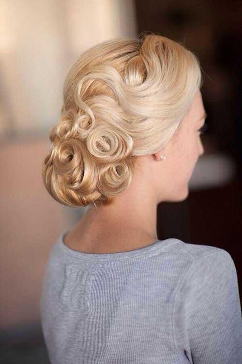 Estilos de cabello de la boda para cabello largo-20