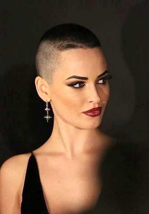 peinados afeitados para mujeres 43