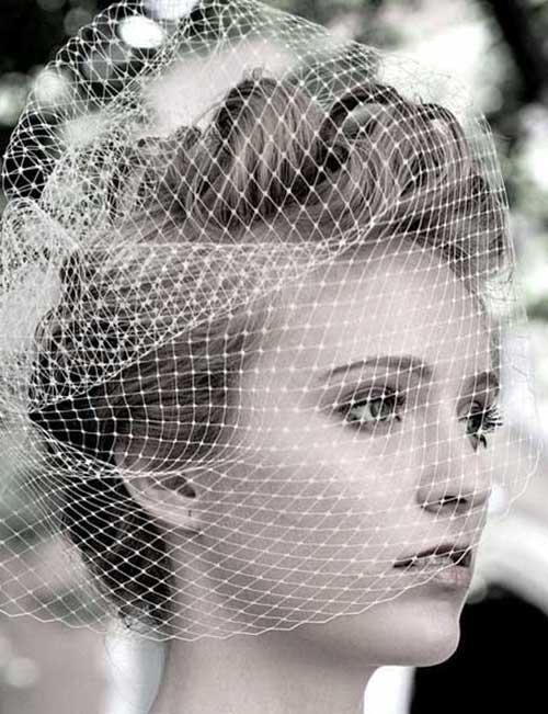 Accesorios para el pelo corto para bodas