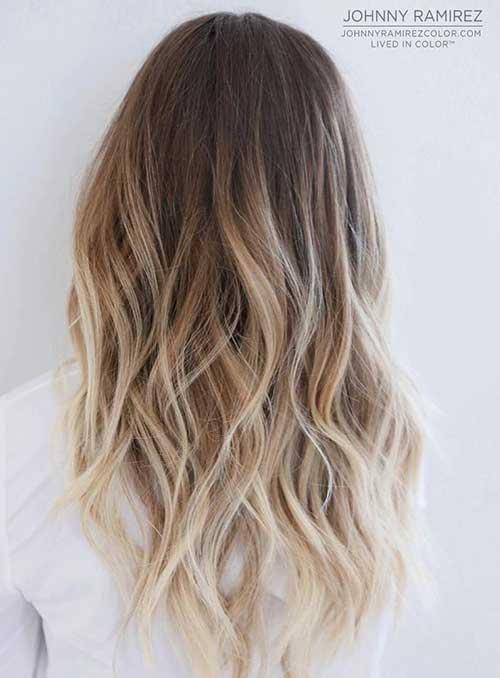 Peinados largos en capas-14