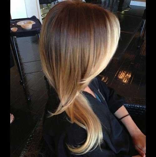 Mejor cabello resaltado Ombre