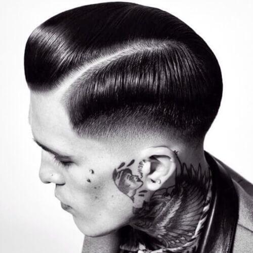 Peinado hacia atrás