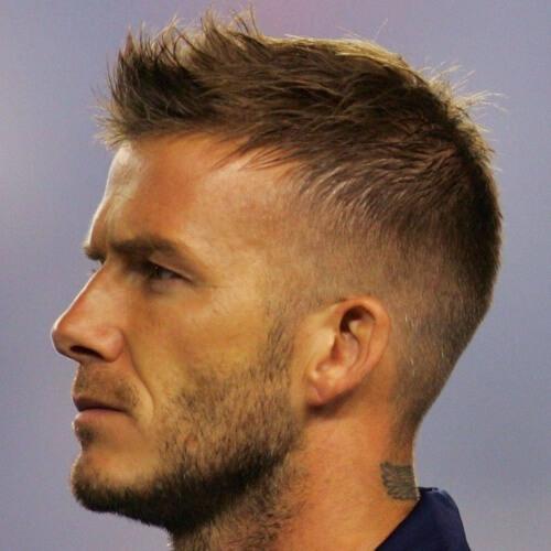 Taper Fade David Beckham Peinados