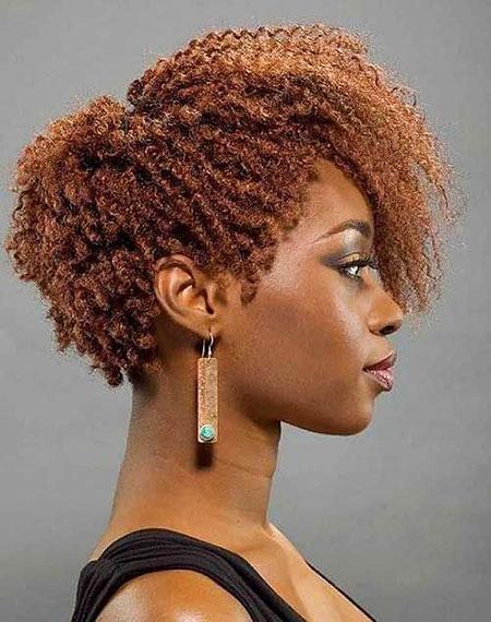 Cortes de pelo cortos para mujer negra - 17