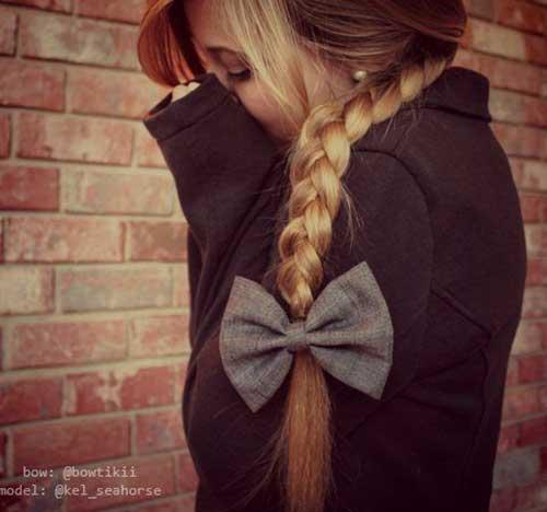 Cortes de pelo largos de la muchacha