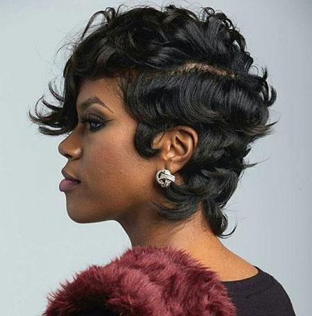 Cortes de pelo cortos para mujer negra - 11