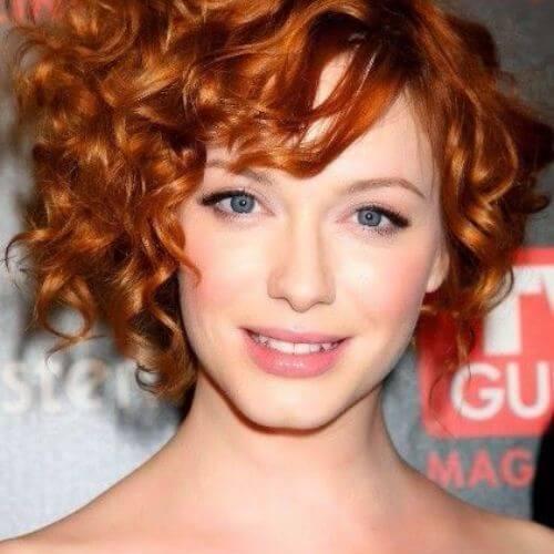 christina hendricks pelo rizado rojo