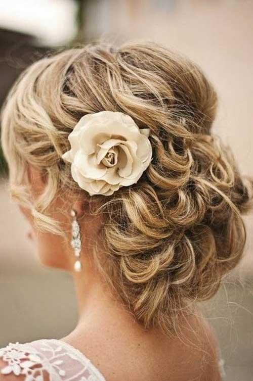 Estilos de cabello de la boda para cabello largo-24