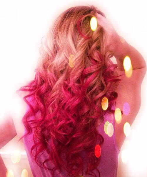hada roja ombre pelo