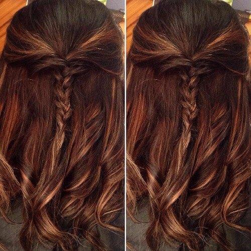 marrón cabello cereza pelo rojo marrón cabello