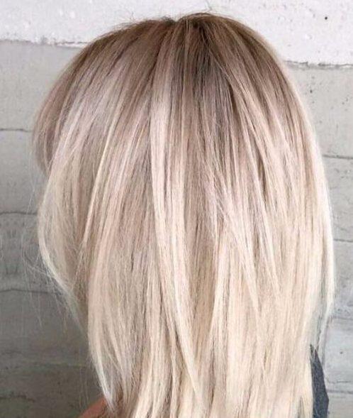 peinados helados de longitud media