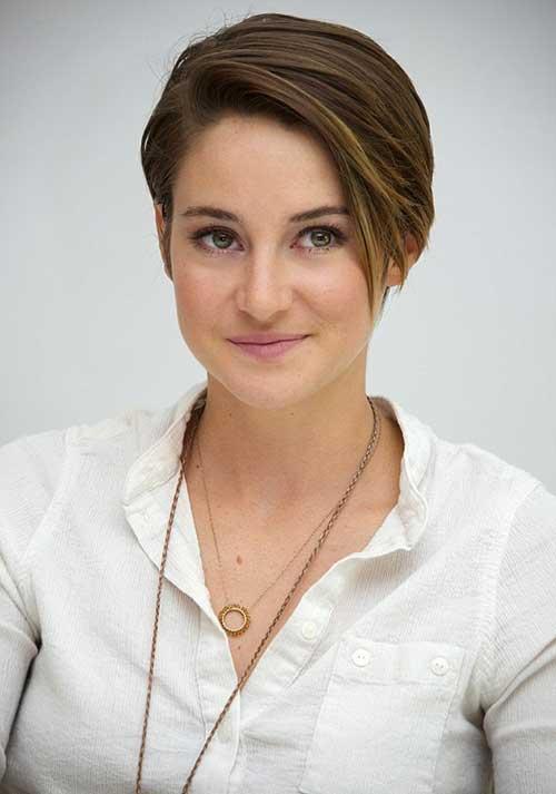 Shailene woodley pelo corto