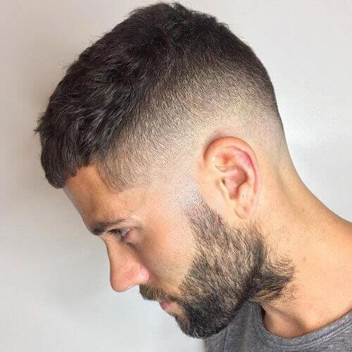 Caesar Cut Box Fade