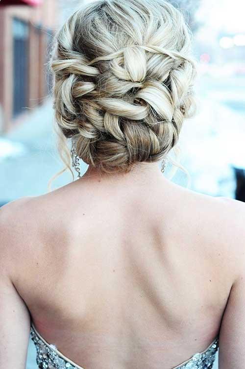 Mejores peinados de baile lindo para el pelo largo