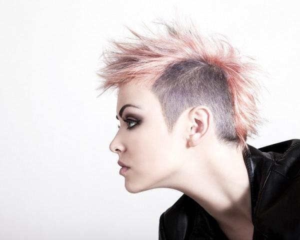 peinados punk-